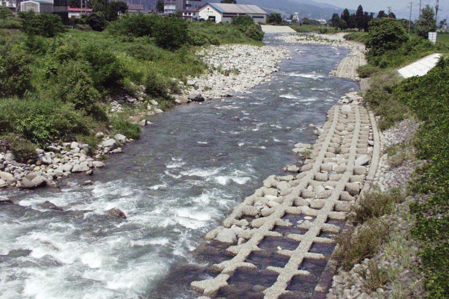 五十嵐橋下流