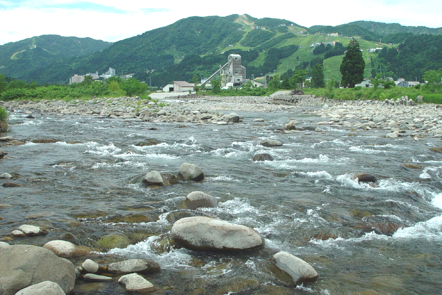 姥島橋上流