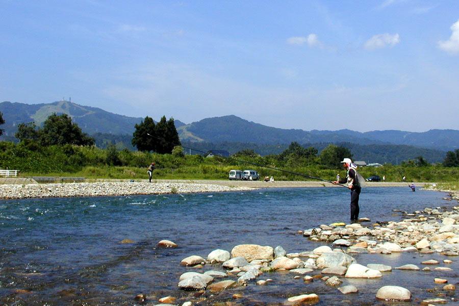 泉田橋下流