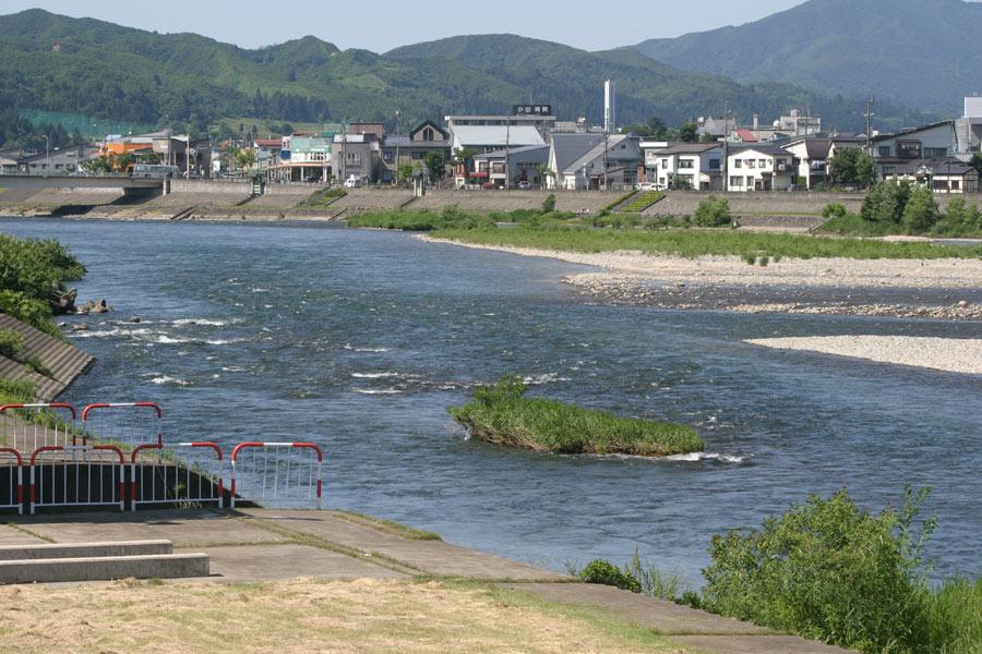 新柳生橋下流