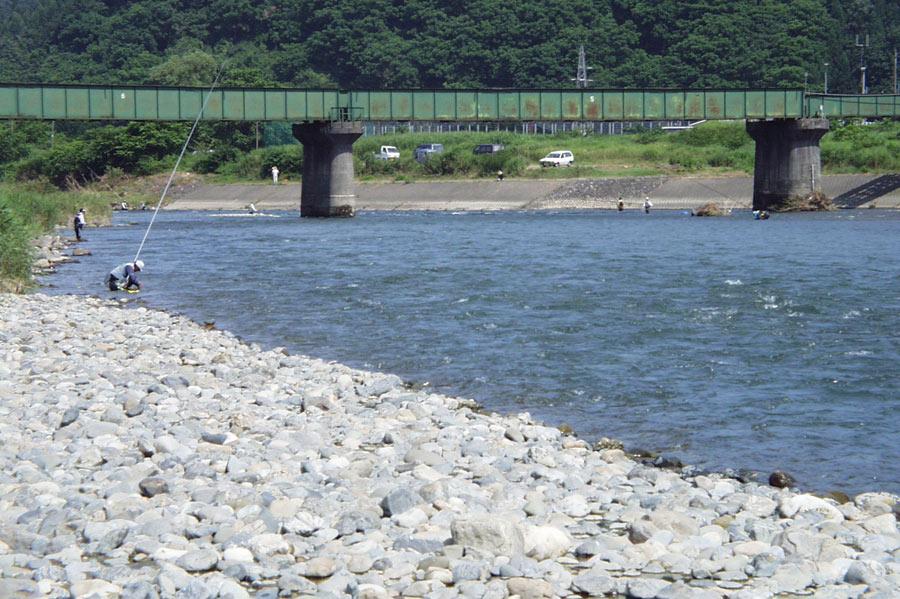 小出橋下流