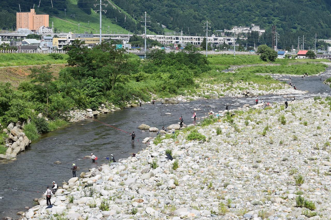 釣り 魚 野川